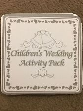 Children's Wedding Activity Pack, Table Favours,