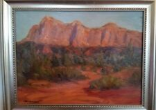 Chet Bittner. Arizona, desert evening. Well collected artist.