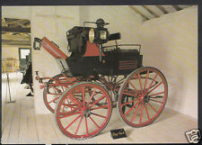 Road Transport Postcard - Dog Cart c.1880, Arlington Court Carriage RR1418