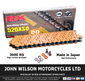 Honda NSR 250 R 1994 MC28 Orange RK X-Ring Chain 520 XSO 110 Link