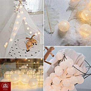 5M 20LED Bulb Shape String Fairy Light Warm White CHRISTMAS PARTY GARDEN WEDDING