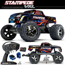 Traxxas 1/10 Stampede VXL Brushless 2WD Rock N Roll Monster Truck RTR