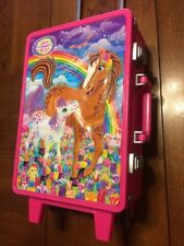 Lisa Frank LF Suitcase Travel Bag Case Children's Vintage Rainbow Horse
