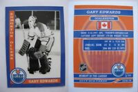 2015 SCA Gary Edwards Edmonton Oilers goalie never issued produced #d/10