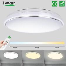 LED Deckenleuchte Deckenlampe Dimmbar mit Fernbedienung Lampe 62W Wohnzimmer DE