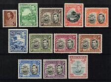 Grenada 1938-50 King George VI set to 10s., MNH (SG#152/163a)