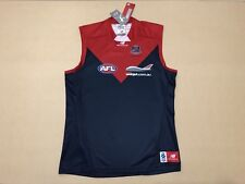NEW BALANCE MELBOURNE DEMONS GUERNSEY JUMPER JERSEY ~ LARGE ~ NEW W/ TAGS AFL