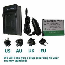 Li-40B42B Battery+charger for Nikon EN-EL10 D-Li63 D-Li108 NP-80 CNP80 KLIC-7006