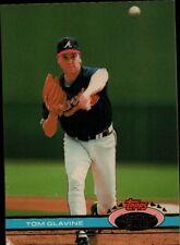 Topps 91 #558 - Atlanta Braves - Tom Glavine