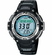 Casio Twin Sensor Watch, Compass, Thermometer, 200 Meter WR, 5 Alarms, SGW100-1V