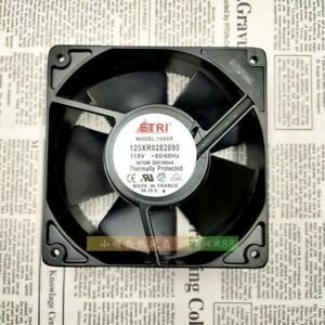 ETRI 125XR0282090 115V 16 / 15W 12038 metal heat-resistant cooling fan
