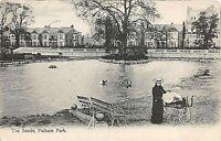 POSTCARD LONDON  - FULHAM PARK - THE SANDS - CIRCA 1905