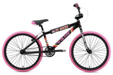 SE Bikes 2019 So Cal Flyer 24 Inch BMX Wheelie Single Speed Bike Black/Pink