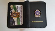 "1 ""COLLECTIBLE"" 2018 DEA PBA CARD WITH LEATHER FAMILY MEMBER WALLET NOT CEA SBA"