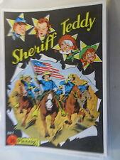 Sheriff Teddy - Nr. 1-33 komplett  - Hethke Nachdruck - Z.1/1-