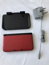 Nintendo 3DS XL Red/Black With Charging Station Immaculate Condition