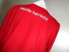 Adidas Felpa Svizzera Schweiz Suisse Freude Herrscht nuova full zip vintage XL