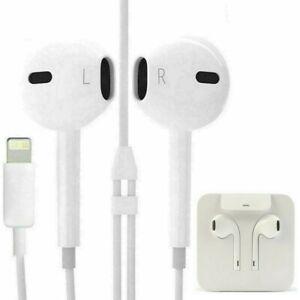 Ecouteur iPhone 7 8 Plus X XR XS Max 11 11 Pro 12 IPAD Pro Sans télécommande