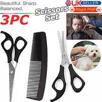 Professional Salon Hairdressing Hair Thinning Cutting Barber Scissors Set