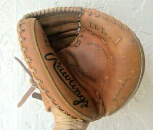 "Rawlings Adult Full Size 34"" Catcher's Glove / Mitt, Well Broken In, RCM7"