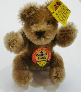 "Vintage Original Stieff 3"" Mini Teddy Bear w/ Tags"