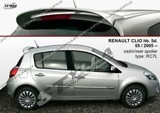 SPOILER REAR ROOF RENAULT CLIO 3 III WING ACCESSORIES
