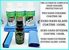 THE ULTIMATE NANO CERAMIC/GLASS COATING PAINT PROTECTION HYDROPHOBIC KIT