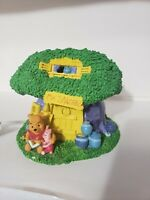 Vintage Winnie The Pooh MR SANDERS Tree House Night Light Disney Decorative Lamp