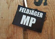 SNAKE PATCH - FELDJÄGER MP - bundeswerh GERMANY allemagne bund flecktarn