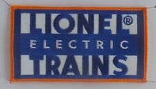 """Lionel Electric Trains  """"Large Patch"""" #49076 is for one patch"""