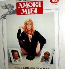 ARMANDO TROVAJOLI LP OST AMORI MIEI LABEL CAM  VITTI DORELLI FENECH STENO
