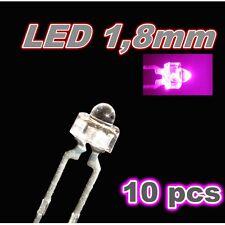 301/10# LED rose 1,8mm 10pcs --- 750mcd -- pink LED