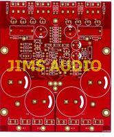 JFET input high speed MOSFET power amplifier PCB Telos !