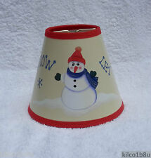 Holiday lamp shades ebay holiday let it snow mini paper chandelier lamp shade multi color aloadofball Choice Image