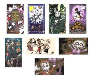 8 Nightmare Before Christmas Magnets - Set B