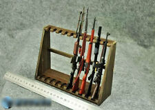 """1/6 Scale Wooden Weapon Guns Rifle Rack Display Fit 12"""" Figure Size a Higher"""