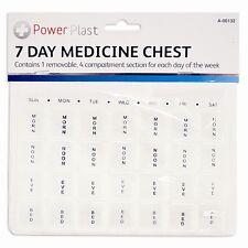 7 Días Semana Caja de la Píldora Medicina portátil Medical pecho evitar perdidas medicación