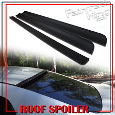 Unpainted For AUDI A4 S4 B5 Rear Window Visor Roof Lip Spoiler Wing 1994-2001