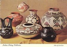 Indian Pottery Collection The Museum of New Mexico Postcard!