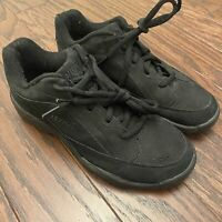 Ryka Womens Size 7.5M Black Catalyst Nubuck Athletic Sneakers Shoes