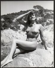 NUDE WOMAN gazing beauty ORIG PHOTO by Alexander Baege German photographer