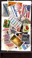 338T5  ETATS-UNIS Lot 50 timbres ,tous differents,Presidents, emblèmes et divers