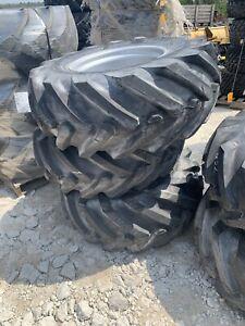 405/70-20 tires and rims 16.0/70-20 W18x20 OTR Wacker Neuson Gehl Manitou Set 3