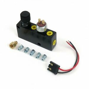 Adjustable Proportioning Valve & Built in Distribution Block With Brake Fittings