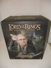SIDESHOW LORD OF THE RINGS RARE LEGENDARY LEGOLAS SCALE BUST # 176/500