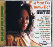 """Various-""""What More Can A Woman Do? Brunswick And Chi-Sound Sisters Of Soul"""" MINT"""
