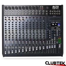 Alto 1604 Mixer 16 Channel 4 Bus DSP Effects USB Professional Live Studio UK