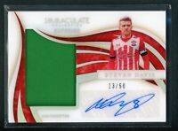 2020 STEVEN DAVIS 13/50 AUTO JERSEY PANINI IMMACULATE COLLECTION AUTOGRAPHS