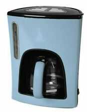 Kaffeeautomat Kaffeemaschine 12 Tassen 1,5 L pastellblau
