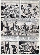 BOB LEGUAY METAMORPHOSE PLANCHE ORIGINALE TIM L'AUDACE ANNEES 1950 PAGE 29